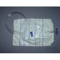 Saco para Urina Esterilizado com Torneira 2000 ml